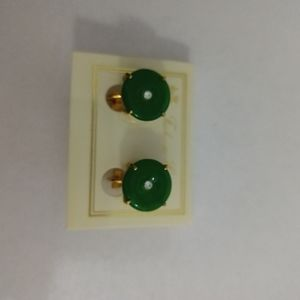 New on tag earrings from late 90's clip on style